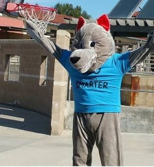 picture of Charlie Coyote mascot