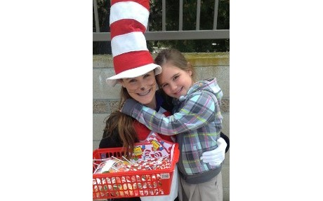 Dr. Suess and Students